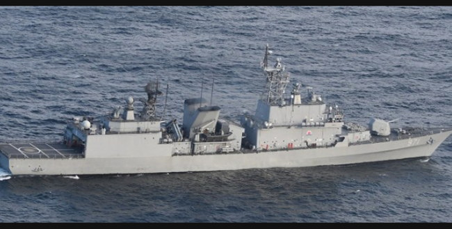 韓国海軍の駆逐艦が海上自衛隊P1哨戒機を攻撃しようとした問題